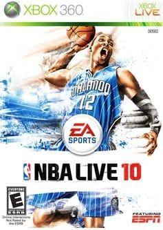 NBA live 10 (Xbox 360) б/у