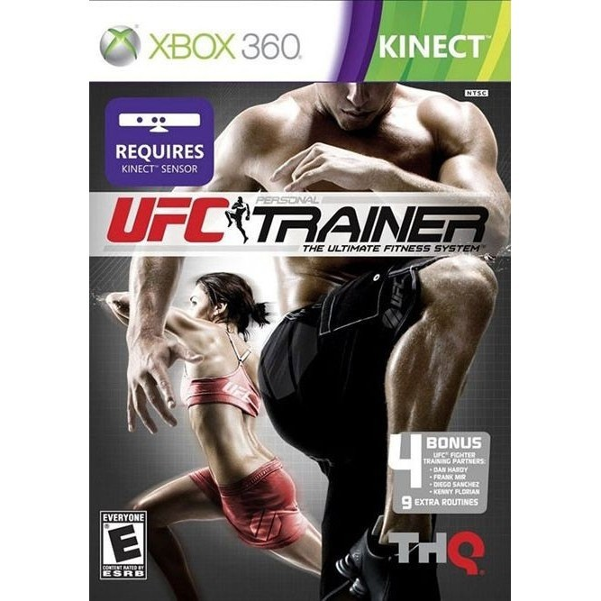 UFC personal trainer Kinect (Xbox 360) б/у