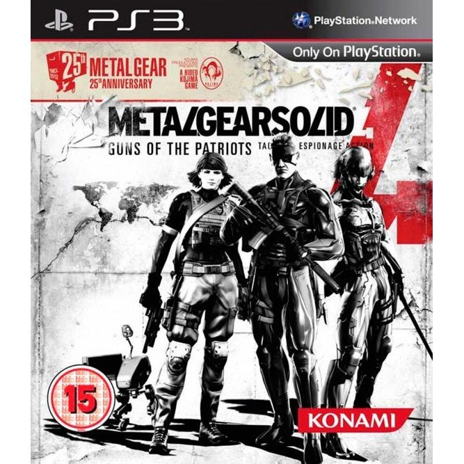Metal Gear Solid IV guns of the patriots (PS3) б/у