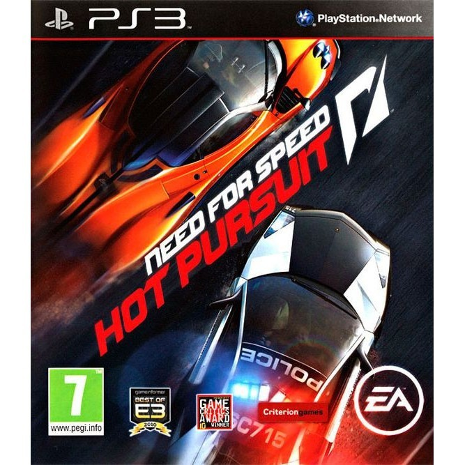Игра Need for Speed: Hot Pursuit (PS3) б/у