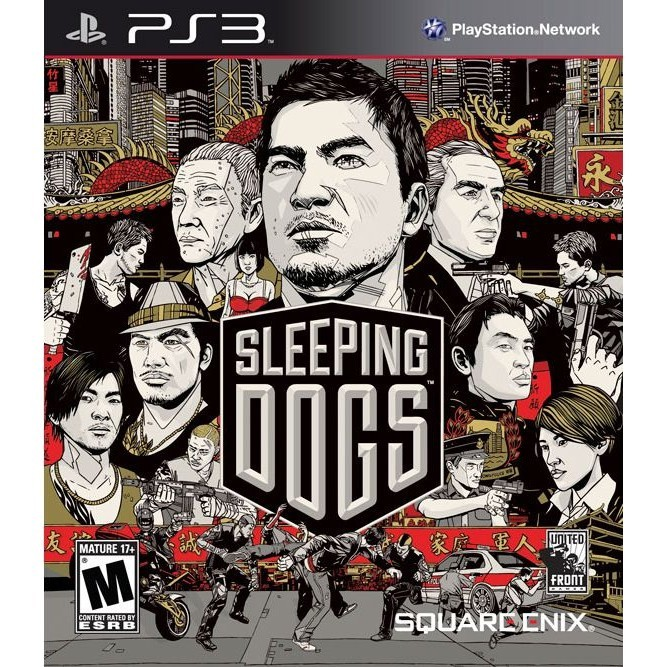 Игра Sleeping Dogs (PS3)