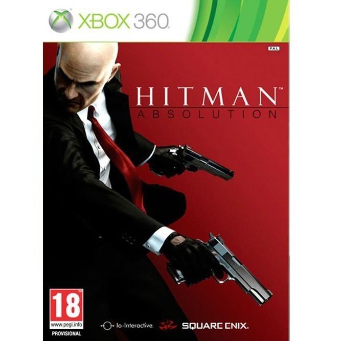 Hitman absolution (Xbox 360) б/у