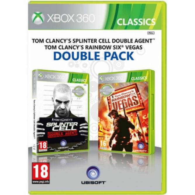 Игра Tom Clancy's Rainbow Six Vegas + Splinter Cell Double Agent (Xbox 360) (eng)