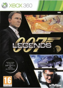 Игра 007: Legends (Xbox 360) б/у