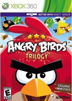 Игра Angry Birds Trilogy (Поддержка Kinect) (Xbox 360) б/у