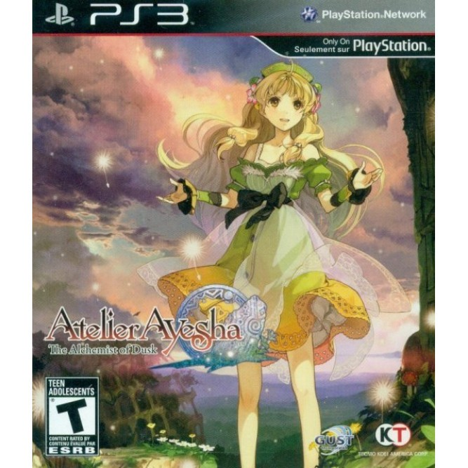 Игра Atelier Ayesha: The Alchemist of Dusk (PS3) б/у