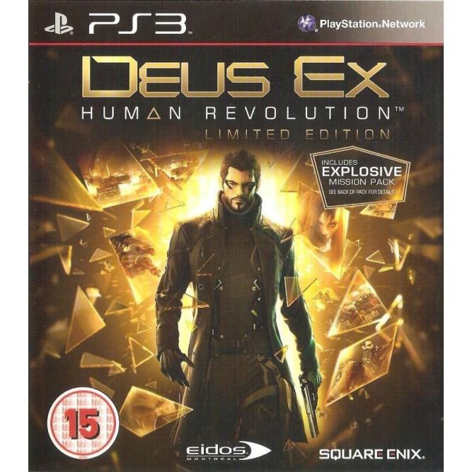 Игра Deus Ex: Human Revolution (PS3) б/у