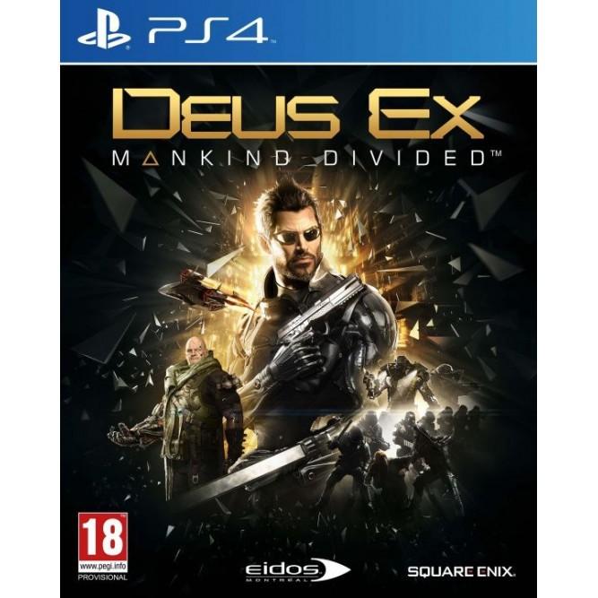 Игра Deus Ex: Mankind Divided (PS4) б/у