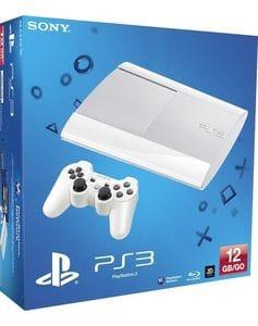 Приставка Sony PlayStation 3 Superslim (12GB) белая, б/у