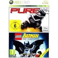 Комплект: PURE + LEGO Batman (Xbox 360) б/у