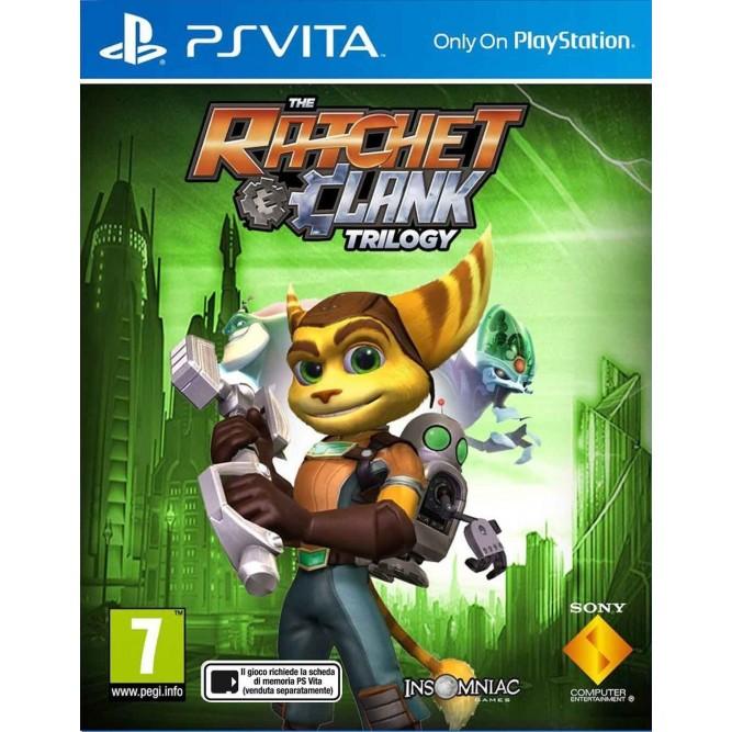 Игра The Ratchet & Clank Trilogy (PS Vita) б/у