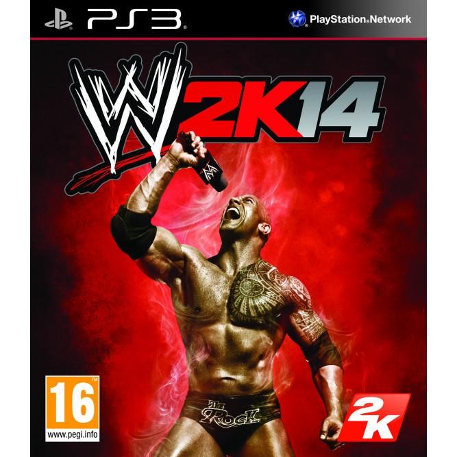 Игра WWE 2K14 (PS3) б/у
