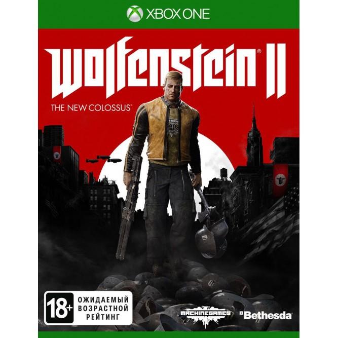 Игра Wolfenstein 2: The New Colossus (Xbox One) б/у (rus sub)