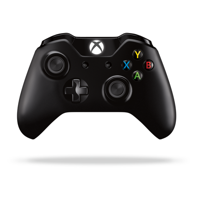 Геймпад Microsoft Controller for Xbox One S (Черный)
