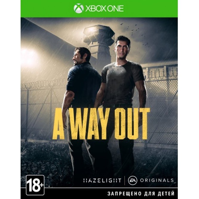 Игра A Way Out (Xbox One) б/у (rus)