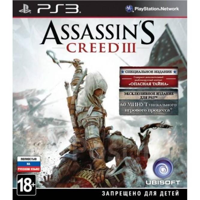 Игра Assassin's Creed III. Специальное издание (PS3) б/у