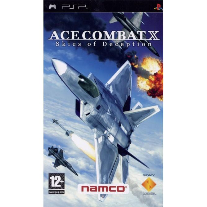 Игра Ace Combat X: Skies of Deception (PSP) б/у