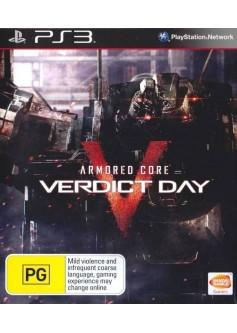 Игра Armored Core: Verdict Day (PS3)
