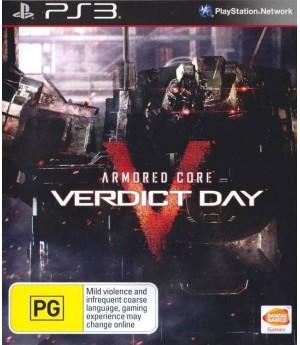 Игра Armored Core: Verdict Day (PS3) б/у