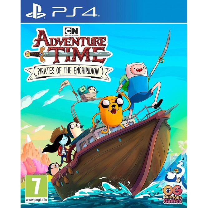 Игра Adventure Time: Pirates of the Enchiridion (PS4) б/у (eng)