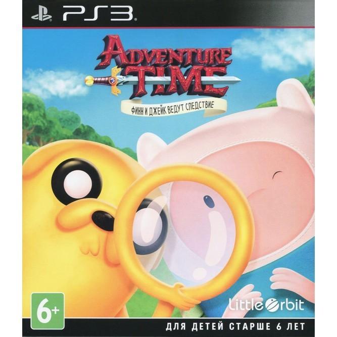 Игра Adventure Time: Финн и Джейк ведут следствие (PS3) б/у