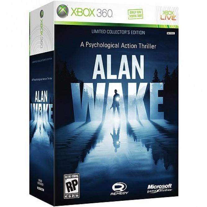 Игра Alan Wake. Коллекционное издание (3 диска + книга) (Xbox 360) (eng)