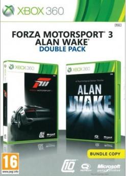 Игра Alan Wake and Forza Motorsport 3 Double Pack (Xbox 360) б/у