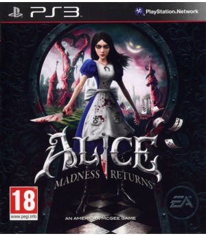 Игра Alice: Madness Returns (PS3) б/у