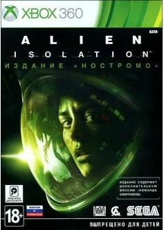 """Игра Alien: Isolation. Издание """"Ностромо"""" (Xbox 360) б/у (rus)"""