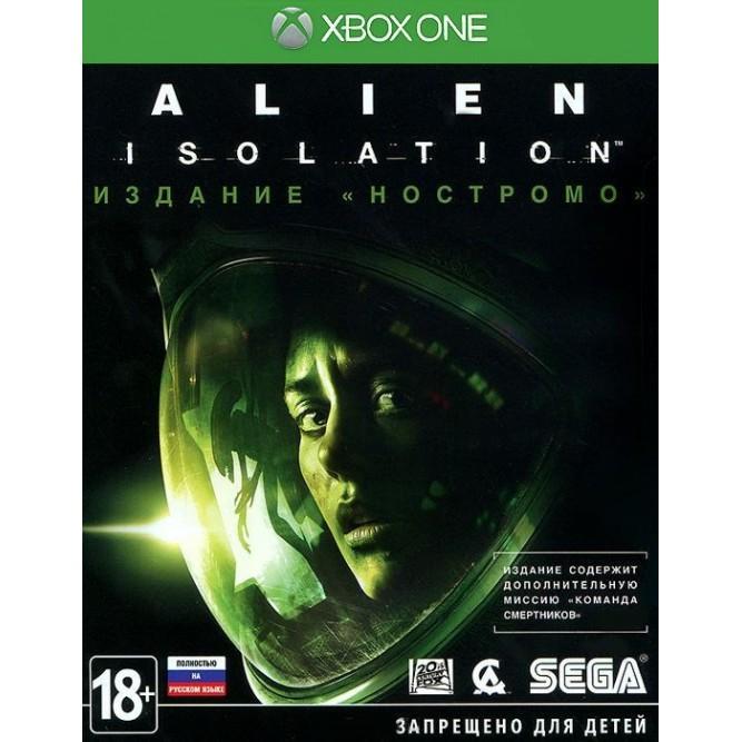 """Игра Alien: Isolation. Издание """"Ностромо"""" (Xbox One) б/у (rus)"""