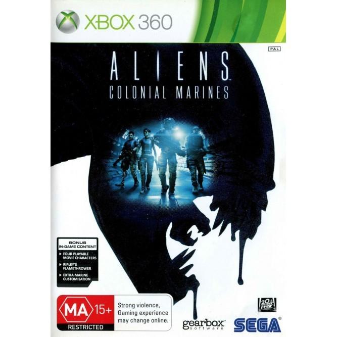 Игра Aliens: Colonial Marines (Xbox 360) (rus)