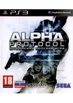 Игра Alpha Protocol (PS3)