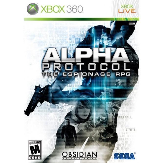 Игра Alpha Protocol (Xbox 360) б/у