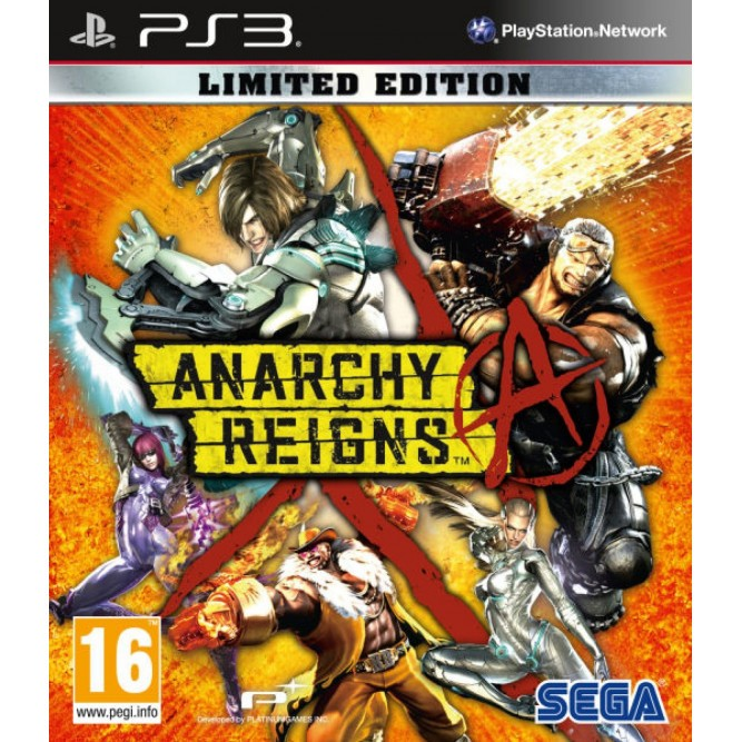 Игра Anarchy Reigns. Limited Edition (PS3) б/у (rus)