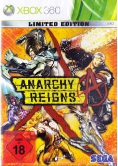Игра Anarchy Reigns Limited Edition (Xbox 360)
