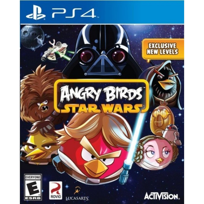 Игра Angry Birds: Star Wars (PS4)