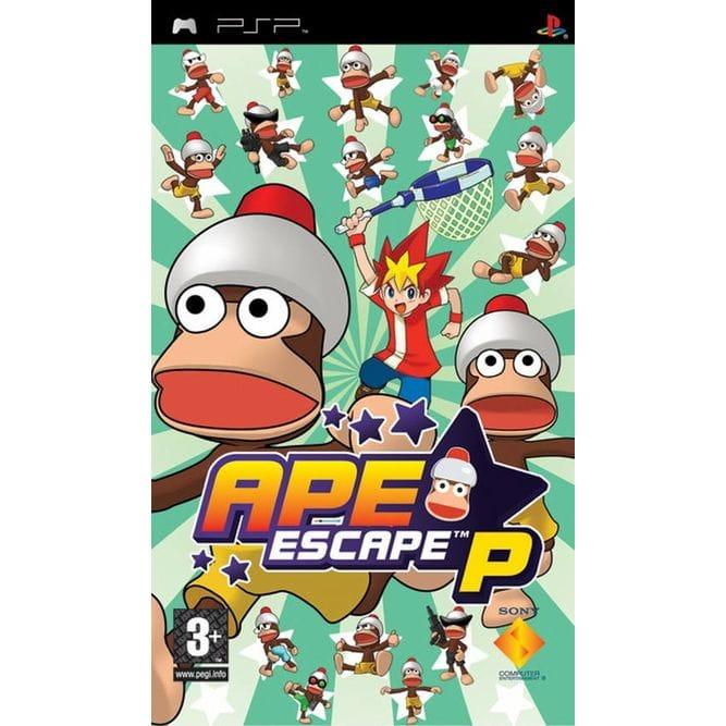 Игра Ape Escape P (PSP) (rus)