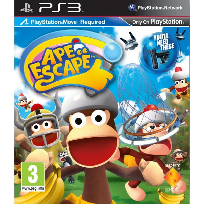 Игра Ape Escape (только для Move) (PS3) (rus) б/у
