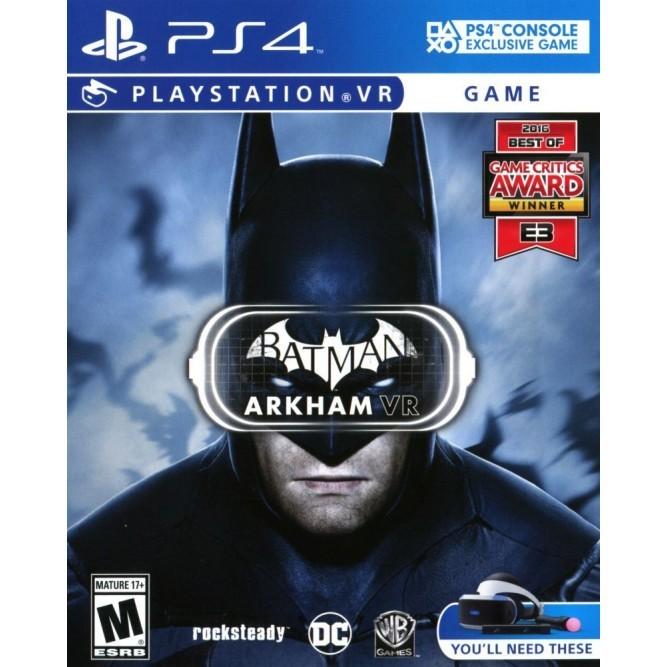Игра Batman: Arkham VR (PS4)