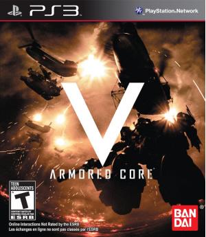 Игра Armored Core: V (PS3) б/у