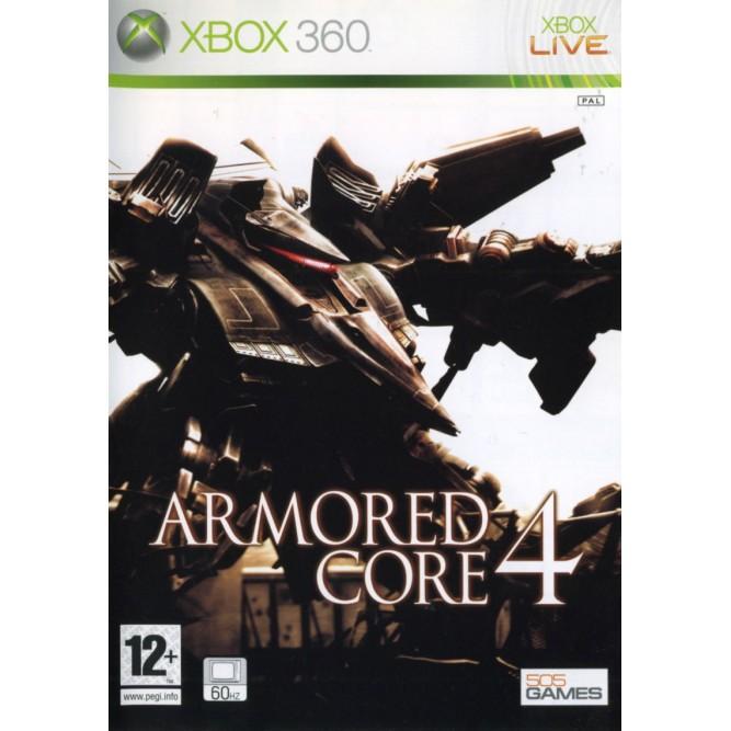 Игра Armored Core 4 (Xbox 360) б/у (eng)
