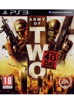 Игра Army of Two: The 40th day (PS3) б/у