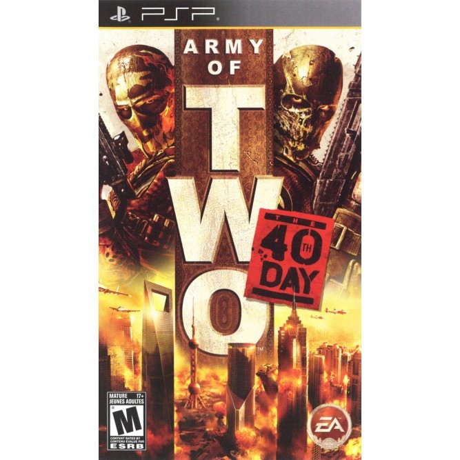 Игра Army of Two: The 40th Day (PSP) б/у
