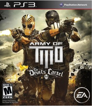 Игра Army of Two: The Devil's Cartel (PS3) б/у (eng)