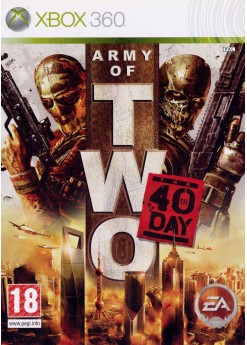 Игра Army of Two: The 40th day (Xbox 360) б/у