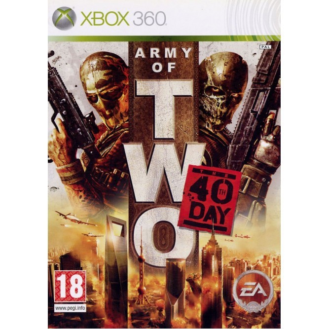 Игра Army of Two The 40th Day (Xbox 360)