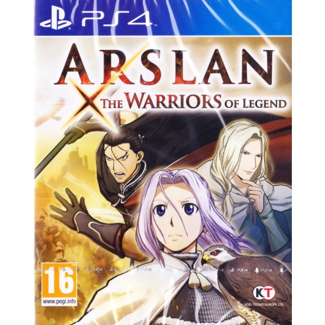 Игра Arslan: The Warriors of Legend (PS4) б/у