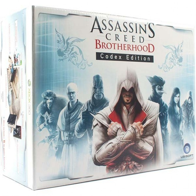 Игра Assassins Creed: Братство крови (Codex Edition) (Xbox 360) б/у