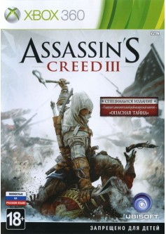 Игра Assassin's Creed III (Xbox 360) б/у (rus)