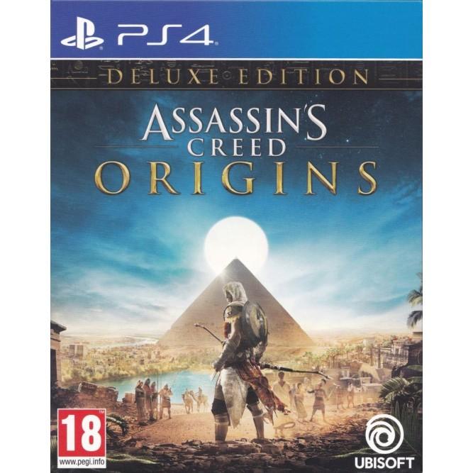 Игра Assassin's Creed: Origins (Истоки). Deluxe Edition (PS4) (rus)